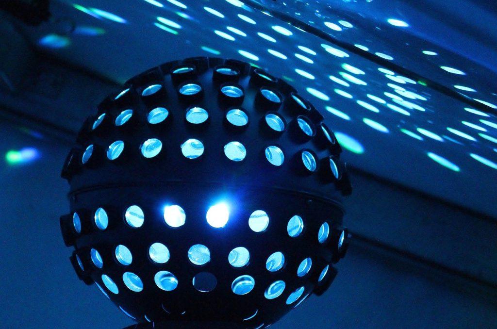 dj, disco, lighting